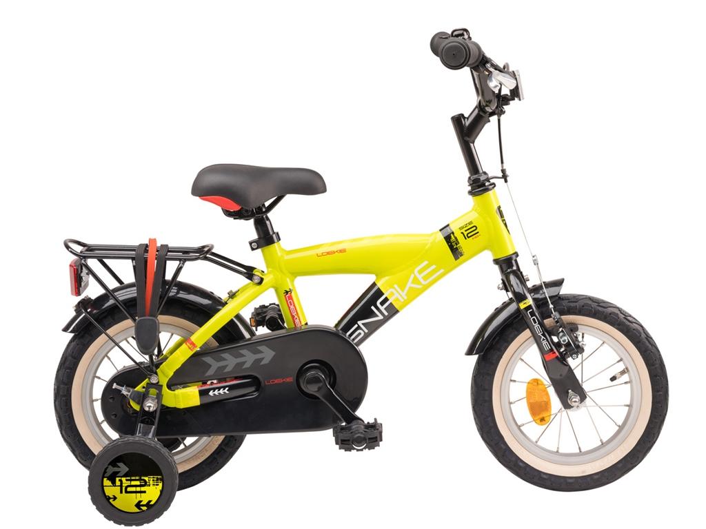 Loekie Snake 12 inch Yellow/Black - Loekie_Snake_12_Geel_Zwart_2020_1.jpg