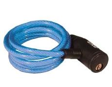 Axa Krulslot Zipp Blauw