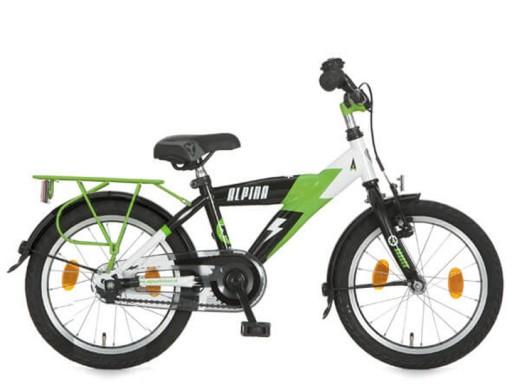 Alpina Yabber 16 inch Wit/Groen/Zwart