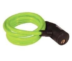 Axa Krulslot Zipp Groen